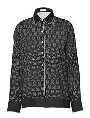Notte shirt - ALMOST BLACK PRINT