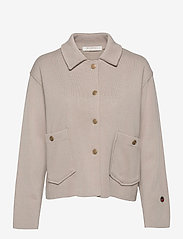 BUSNEL - Nina jacket - wool jackets - sand - 0