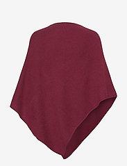 BUSNEL - Cashy poncho - ponchos en capes - bordeaux - 1