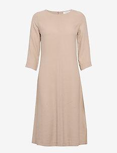 Anita dress - NOUGAT