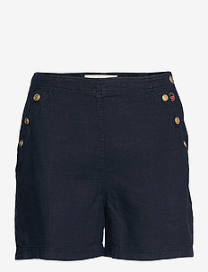 Peggie shorts - casual shorts - marine
