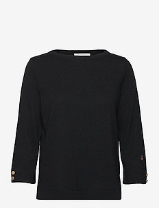 Helle top - jumpers - black