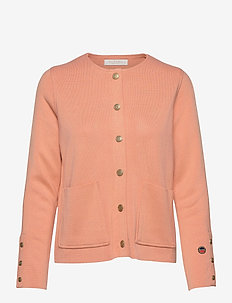 Nilla bis jacket - cardigans - sunset