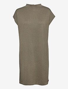 Loreen dress - gebreide jurken - olive