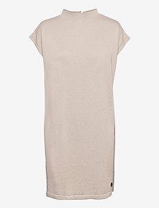 Loreen dress - robes en maille - sand