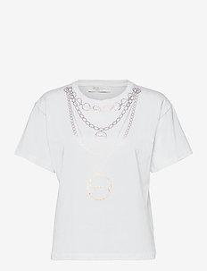 BIJOU t-shirt - t-shirts - white