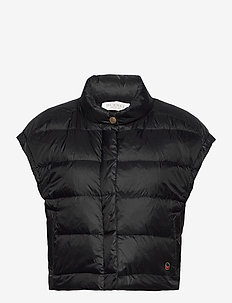 Irma down vest - puffer vests - black