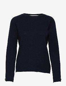Stacey Bis sweater - pulls - marine