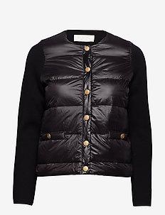 Inella down jacket - BLACK