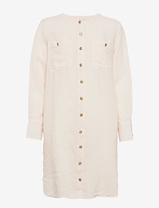 Trevy shirt - skjortekjoler - nougat