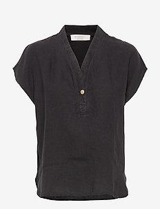 Tora top - bluzki krotkim rekawem - black