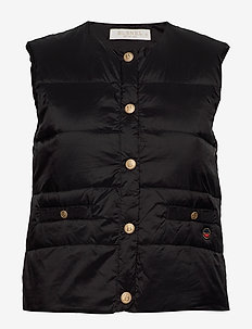 Ilse down vest - gilets - black