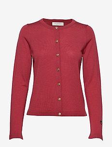 Kerry cardigan - koftor - sunbleached red