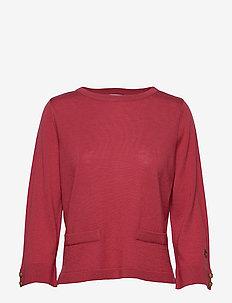 Vanja top - SUNBLEACHED RED
