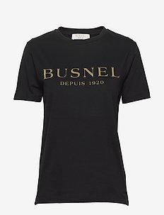 Tourie T-shirt - logo t-shirts - black