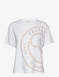 Tournon T-shirt - t-skjorter med trykk - white