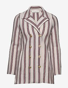 Sophia jacket - blazere - nougat stripe