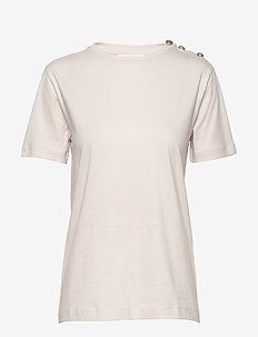 Thalia T-shirt - koszulki basic - nougat