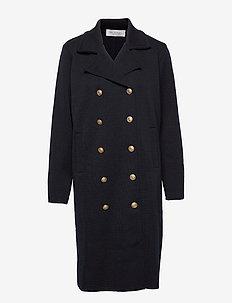 Tanya coat - wollen jassen - marine