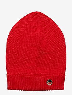Marise beanie - kapelusze - red