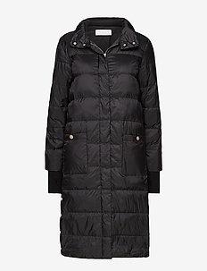 Heloise down coat - BLACK