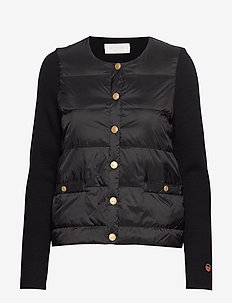 IVA down jacket - BLACK