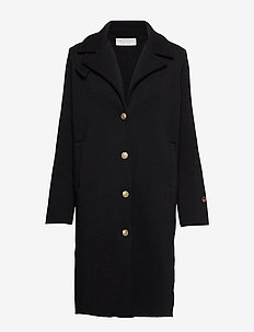 Fossey coat - BLACK