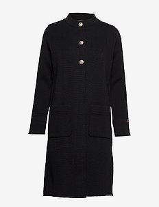 Jules coat - BLACK