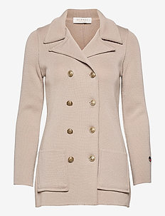 Victoria Jacket - light jackets - sand