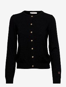 Kee cardigan - vesten - black