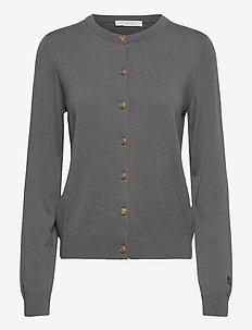 Kee cardigan - cardigans - soft grey