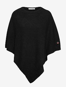 Cashy poncho - ponchos en capes - black