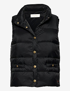 Amy down vest - polstrede vester - black