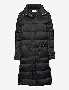 Fanny down coat - dunkåper - black