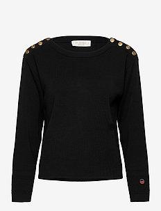 Lea sweater - gensere - black