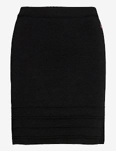 Malou skirt - blyantskjørt - black
