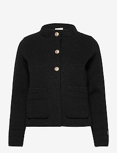 Claret jacket - ulljakker - black