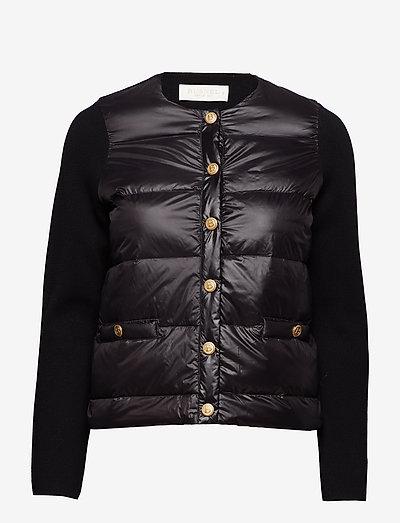 Inella down jacket - forede jakker - black