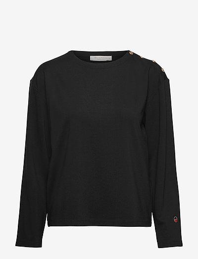 Marina coat - tops met lange mouwen - black