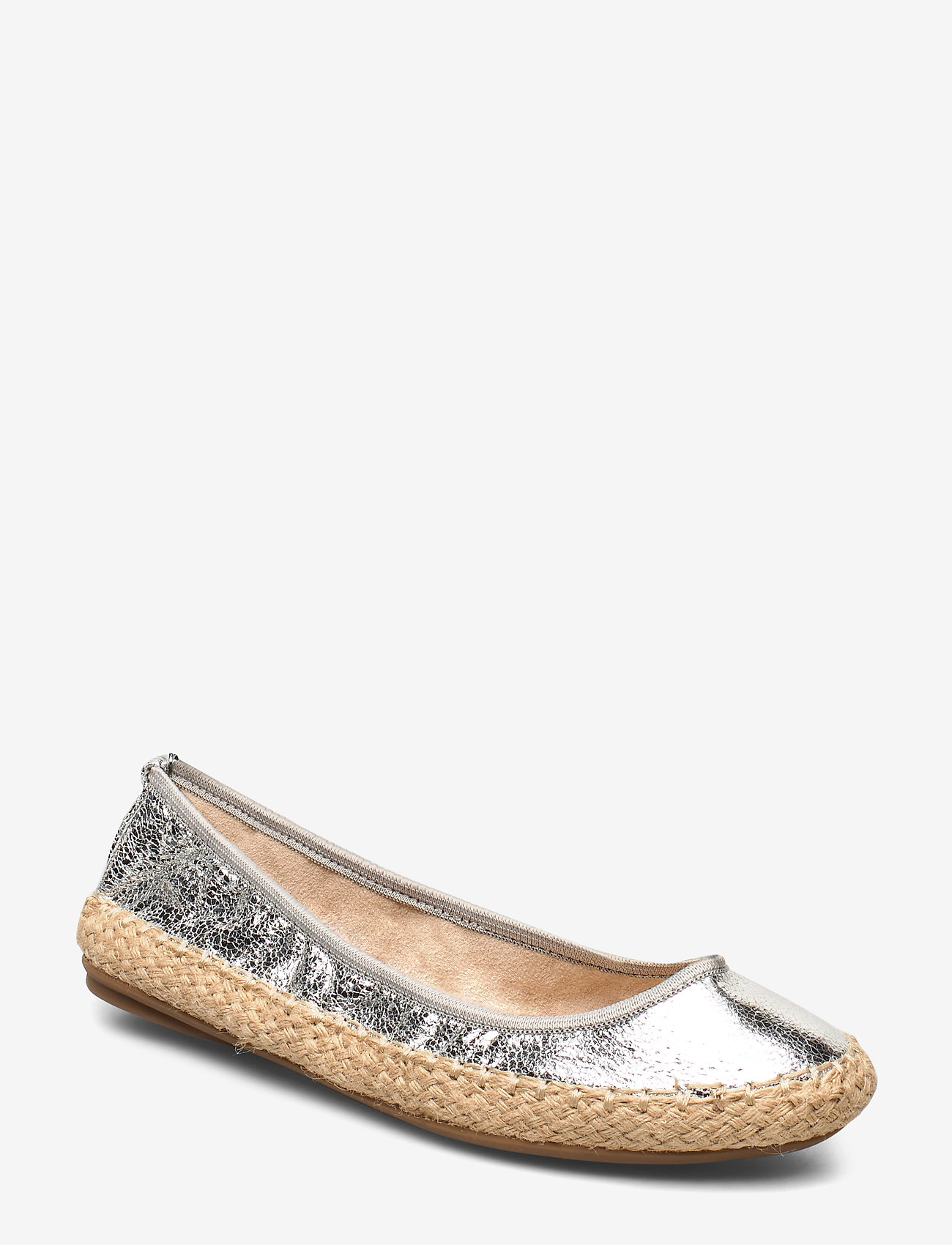 Butterfly Twists - GIGI - ballerinas - cracked silver