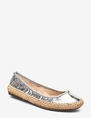 Butterfly Twists - GIGI - ballerinas - cracked silver - 0