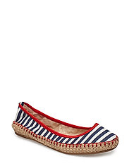 GIGI - NAVY/WHITE STRIPE