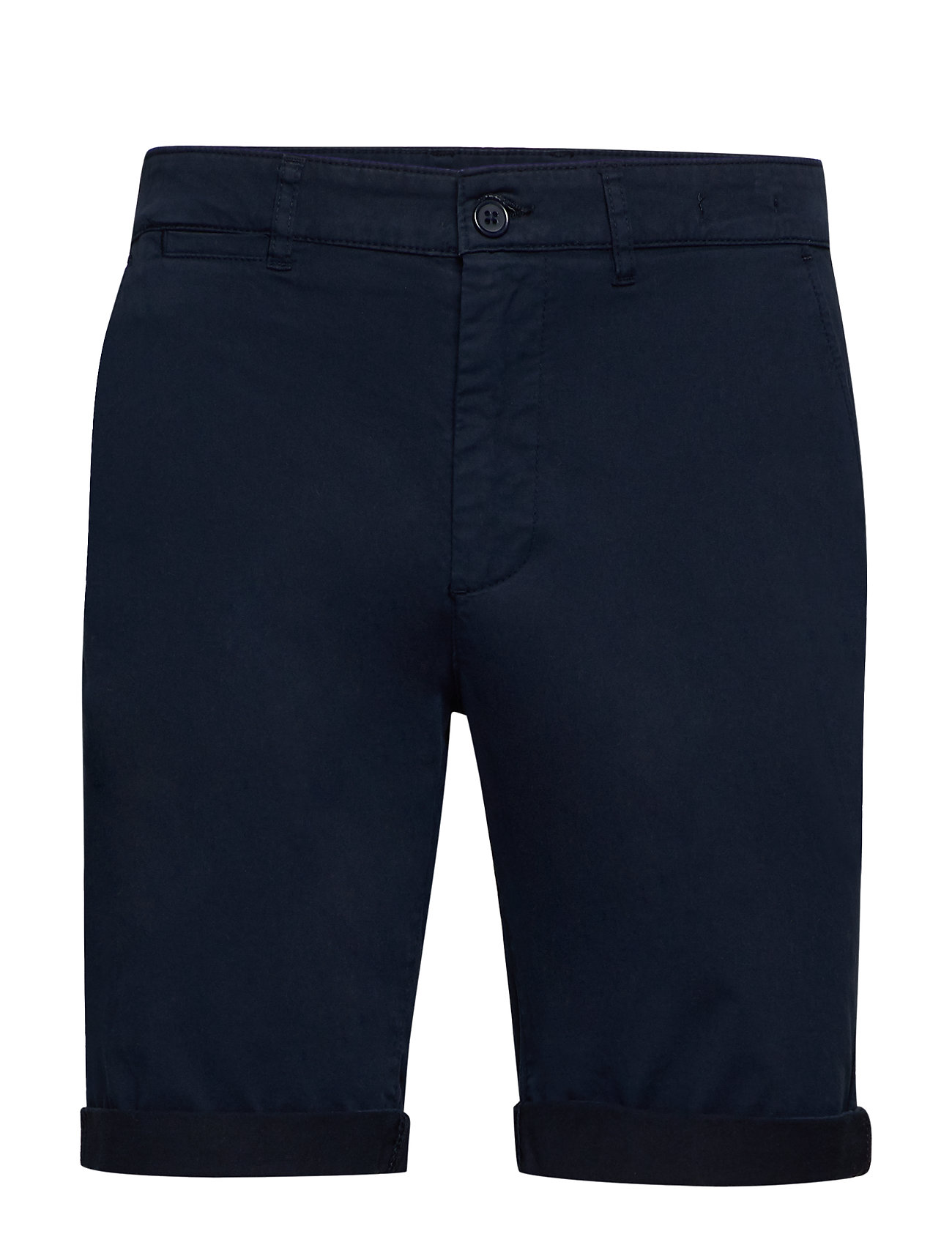 Image of The Organic Chino Shorts Shorts Chinos Shorts Blå By Garment Makers (3325704775)