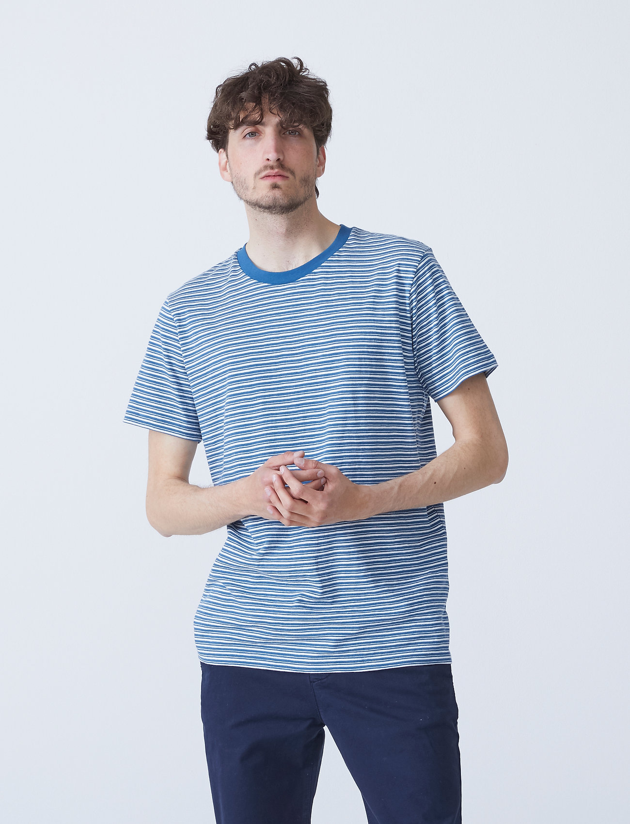 By Garment Makers - The Organic Multistriped Tee - t-shirts à manches courtes - 7002 color3 - 0