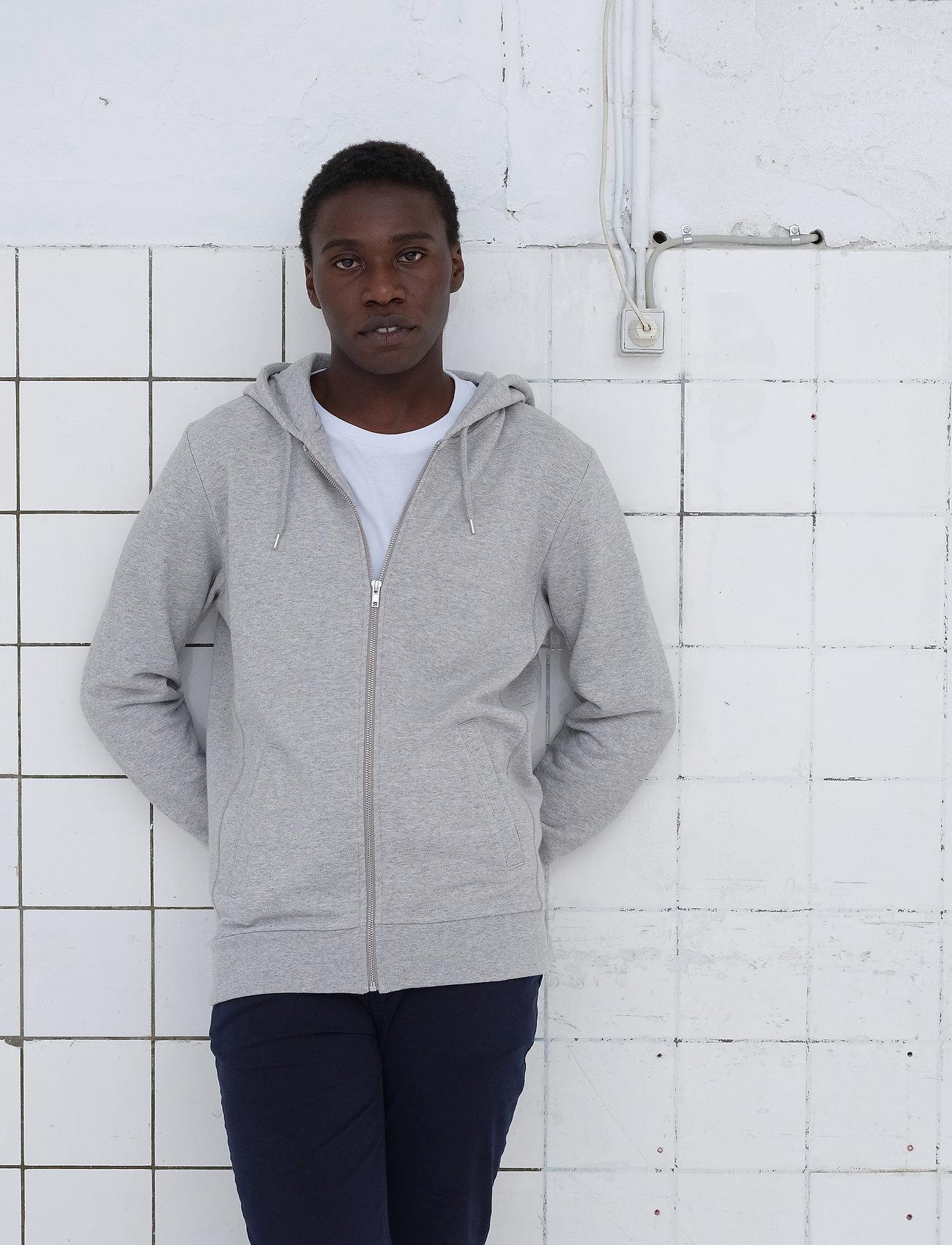 By Garment Makers - The Organic Hoodie - sweats à capuche - light grey - 0