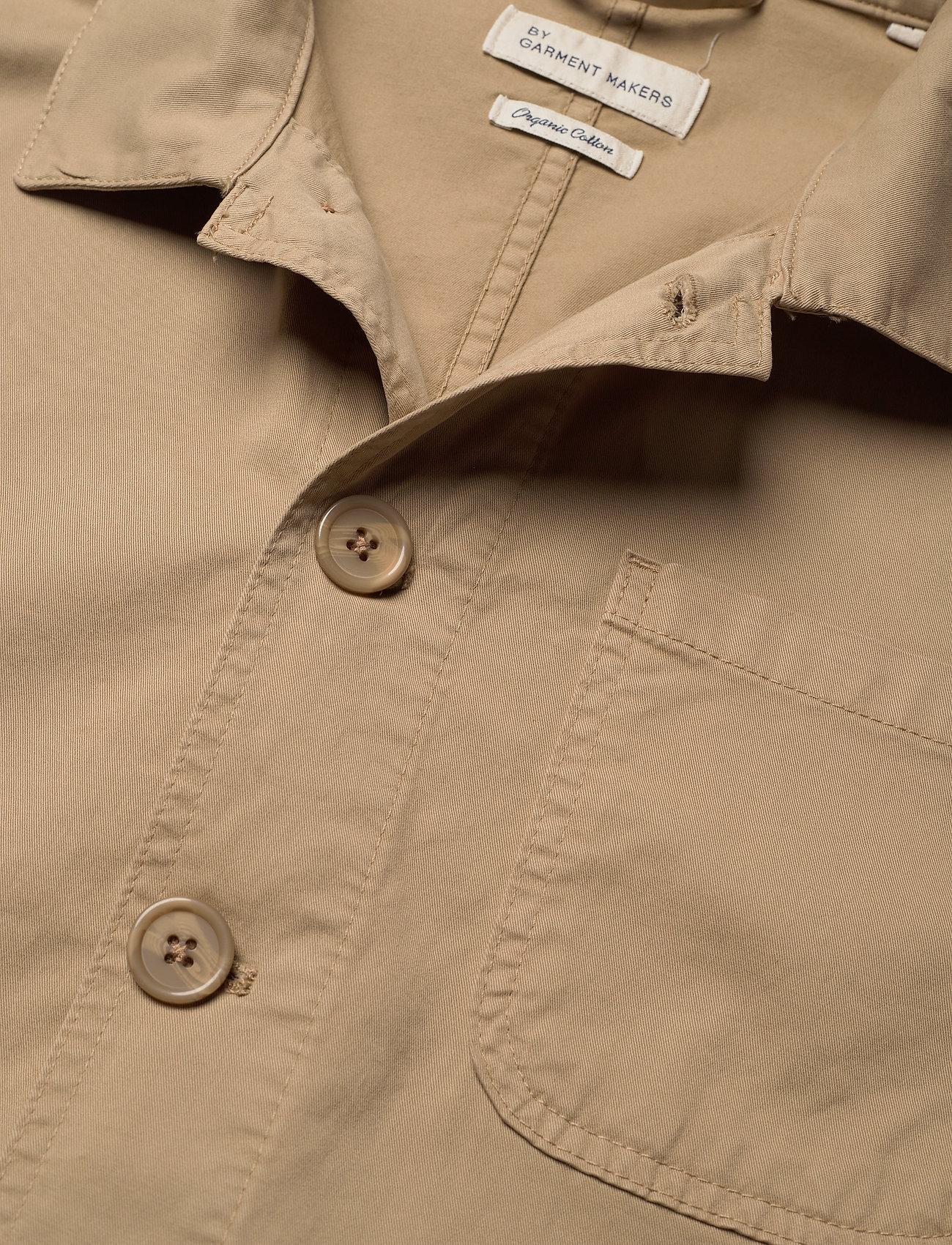 By Garment Makers - The Organic Workwear Jacket - vêtements - khaki - 3