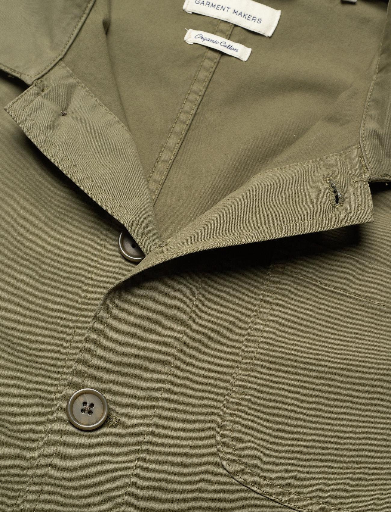 By Garment Makers - The Organic Workwear Jacket - vêtements - oil green - 3