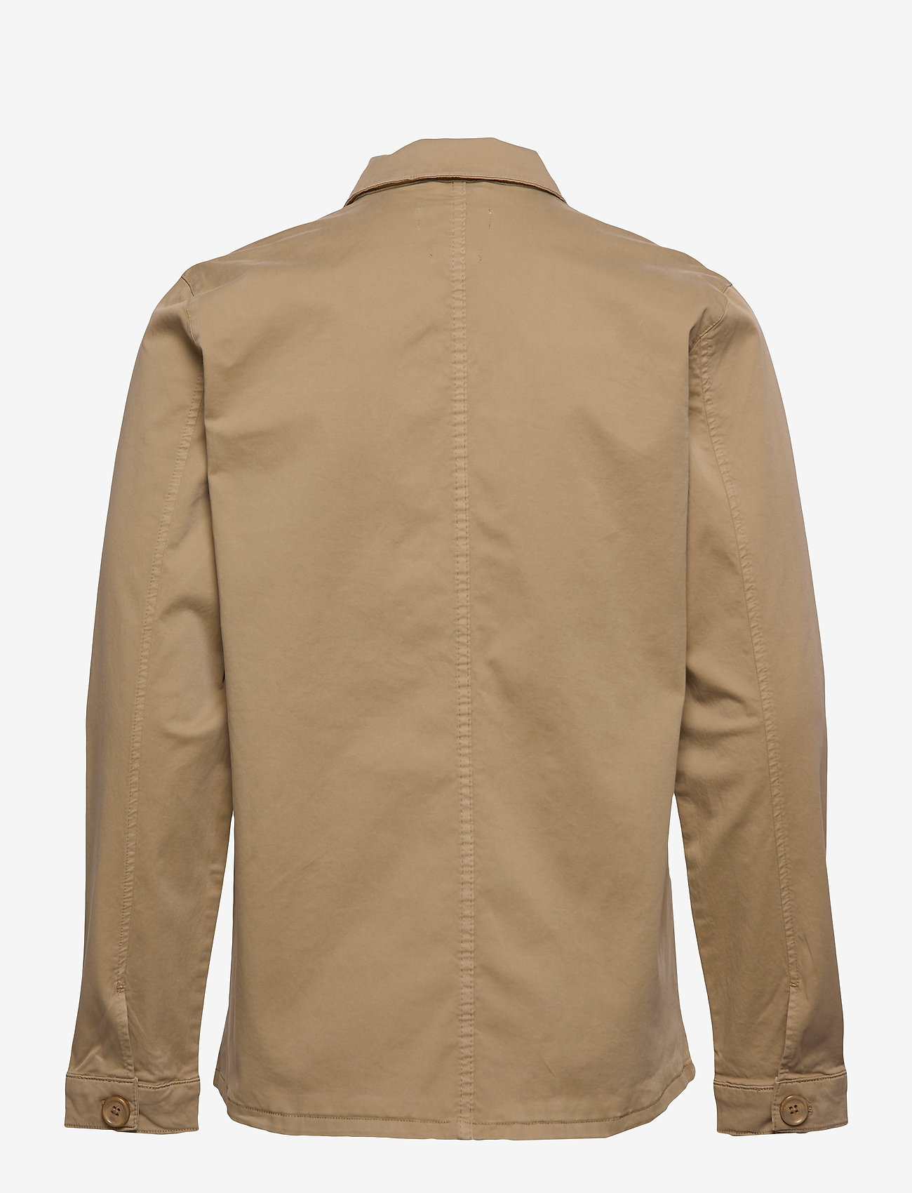 By Garment Makers - The Organic Workwear Jacket - podstawowe koszulki - khaki - 1