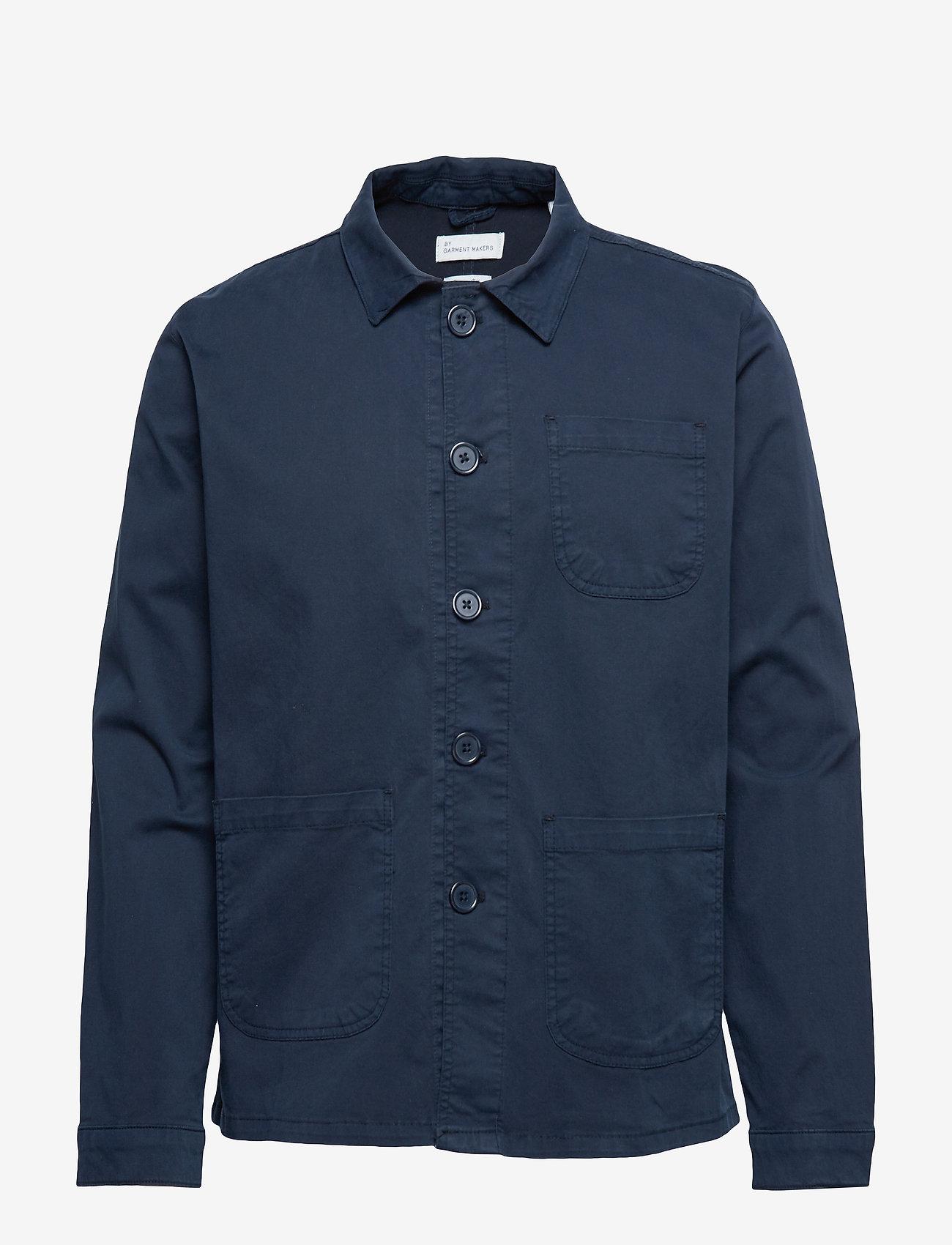 By Garment Makers - The Organic Workwear Jacket - podstawowe koszulki - navy blazer - 0