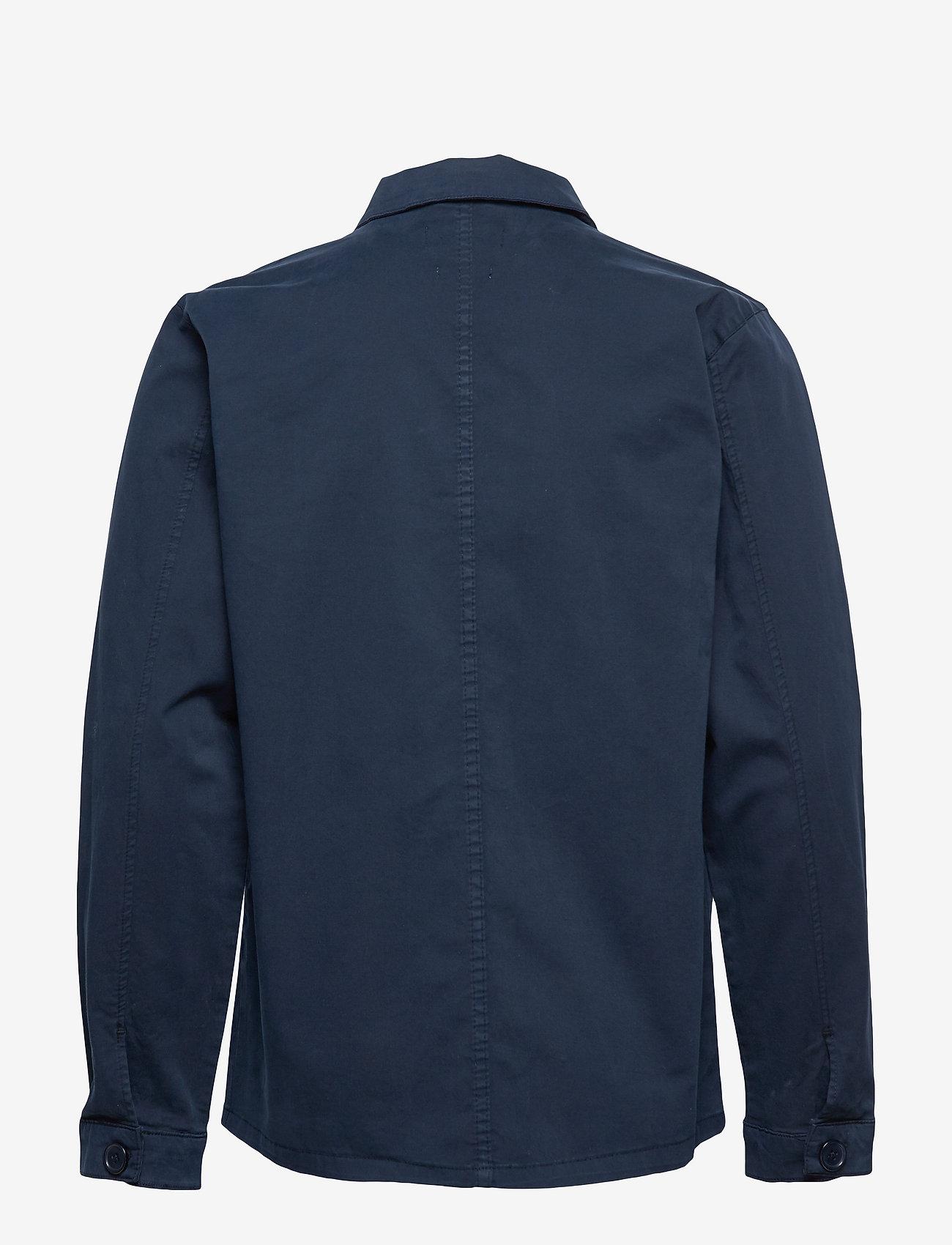 By Garment Makers - The Organic Workwear Jacket - podstawowe koszulki - navy blazer - 1